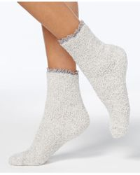 Charter Club - Women's Lace-trim Butter Socks - Lyst