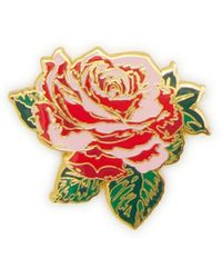 Ban.do - Will You Accept This Rose Enamel Pin - Lyst