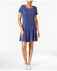 G.H.BASS - Faded Fit & Flare Dress - Lyst