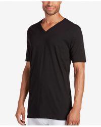 Jockey - Big & Tall Classic Tagless V-neck Undershirt 2-pack - Lyst