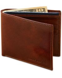Tommy Hilfiger - Wallet, Leather Passcase - Lyst