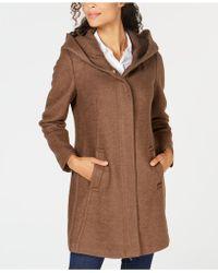 Cole Haan - Hooded Coat - Lyst