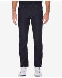 Perry Ellis   Men's Slim-fit Medium Indigo Wash Jeans   Lyst
