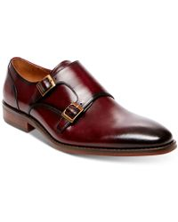 Steve Madden - Elvin Double Monk Strap Loafers - Lyst