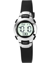Armitron - Women s Digital Black Strap Watch 27mm 45-7012blk - Lyst a1c25aa0c7