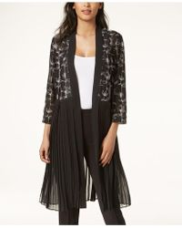 Alfani - Embroidered Pleated Jacket, Created For Macy's - Lyst