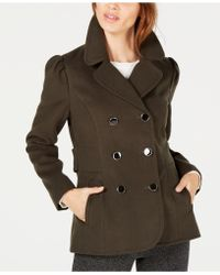 Maison Jules - Double-breasted Peacoat, Created For Macy's - Lyst