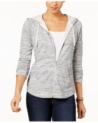 Style & Co. - Petite French Terry Zip Hoodie, Created For Macy's - Lyst