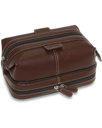 Dopp - Kit, The First Class Collection Country Saddle Travel Kit - Lyst