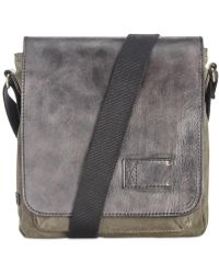 Patricia Nash - Men's Leather North South Crossbody Bag - Lyst
