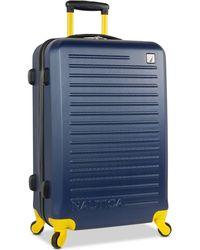 "Nautica - Tide Beach 25"" Hardside Spinner Suitcase - Lyst"