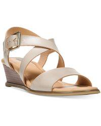 Dr. Scholls - Calling Wedge Sandals - Lyst