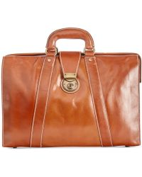 Patricia Nash - Men's Heritage Leather Lawyer Briefcase - Lyst