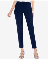 Vince Camuto - Side-zipper Skinny Trousers - Lyst