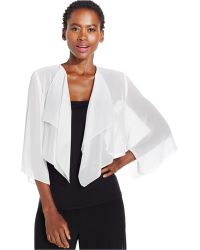 Alex Evenings - Cover Up, Sheer Chiffon - Lyst