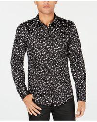 Guess - Mens Luxe Dot-print Shirt - Lyst