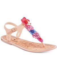 Kate Spade - Fatema Flat Thong Sandals - Lyst