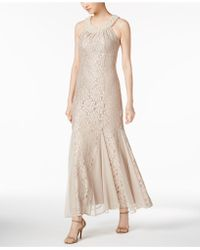 R & M Richards   Embellished Lace Gown   Lyst