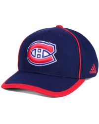 adidas - Montreal Canadiens Clipper Adjustable Cap - Lyst