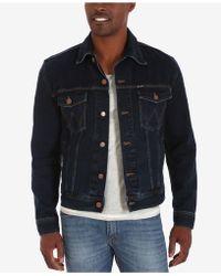 e581a514 Lyst - Wrangler Men's Western Jean Jacket in Blue for Men
