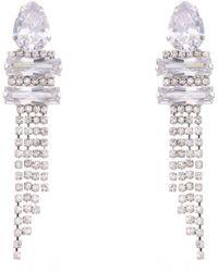 Nina - Cupchain Fringe Earrings - Lyst