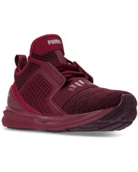 PUMA - Men s Ignite Limitless Knit Casual Sneakers From Finish Line - Lyst a5b925e45