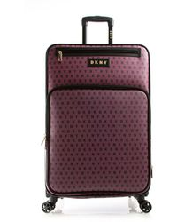 """DKNY - Signature Gems 28"""" Spinner Suitcase - Lyst"""