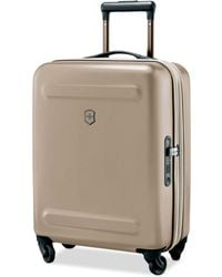 """Victorinox - Swiss Army Etherius Metallic 21"""" Carry-on Expandable Hardside Spinner Suitcase - Lyst"""
