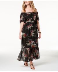 Style & Co. - Off-the-shoulder Maxi Dress, Created For Macy's - Lyst