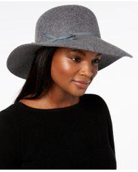 Nine West - Wool Felt Floppy Hat, Created For Macy's - Lyst
