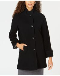 Jones New York - Single-breasted Coat - Lyst