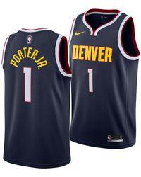 the best attitude 62552 79077 Nike - Michael Porter Jr. Denver Nuggets Icon Swingman Jersey - Lyst