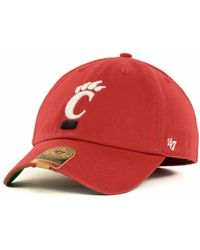 47 Brand | Cincinnati Bearcats Ncaa '47 Franchise Cap | Lyst