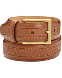 Cole Haan - Men's Textured Leather Belt - Lyst