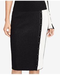 RACHEL Rachel Roy | Button-front Pencil Skirt | Lyst