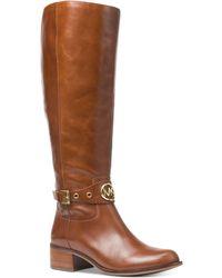 Michael Kors - Michael Heather Riding Boots - Lyst