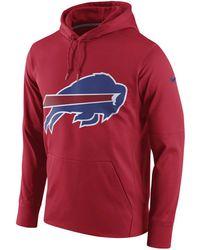 Nike - Buffalo Bills Performance Circuit Logo Essential Hoodie - Lyst e103b46da
