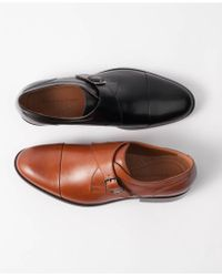 Johnston & Murphy - Hernden Single Monk Cap-toe Loafers - Lyst