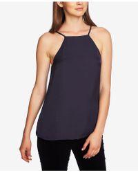 1.STATE - Laced-back Halter Top - Lyst