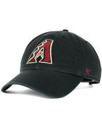 47 Brand - Arizona Diamondbacks Clean Up Cap - Lyst