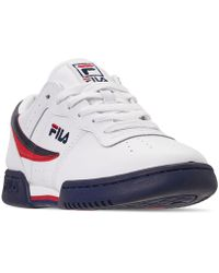 f4a91cf82407 Fila - Original Fitness Casual Athletic Sneakers From Finish Line - Lyst