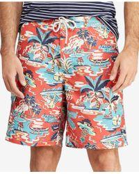 b3073f9d21a4c Polo Ralph Lauren 81⁄2-inch Kailua Swim Trunk in Blue for Men - Lyst