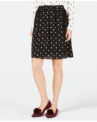 Maison Jules - Polka-dot Pull-on Skirt, Created For Macy's - Lyst