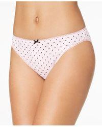 Charter Club | Pretty Cotton Bikini, Only At Macy's | Lyst