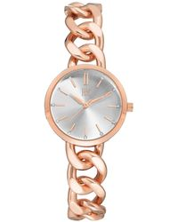 INC International Concepts - Rose Gold-tone Chain Bracelet Watch 30mm, Created For Macy's - Lyst