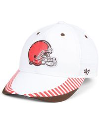 eaf13a873 Lyst - 47 Brand Cleveland Browns Hazy Flex Contender Stretch Fitted ...