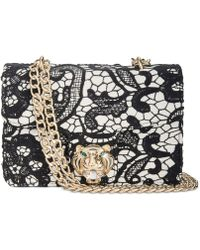 Betsey Johnson - Lady Lace Small Flap Shoulder Bag - Lyst