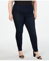 INC International Concepts - I.n.c. Plus Size Seamed Jeggings, Created For Macy's - Lyst