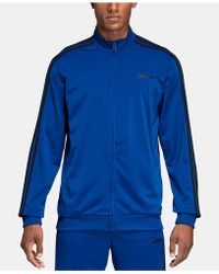 c46a23818 adidas Men's Colorblock Woven Track Jacket in Purple for Men - Save ...