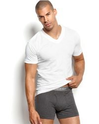 2xist | Essentials V Neck Tee 3 Pack | Lyst